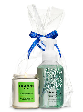 Aromatherapy Eucalyptus Mint Scents & Suds Gift Kit - Bath And Body Works