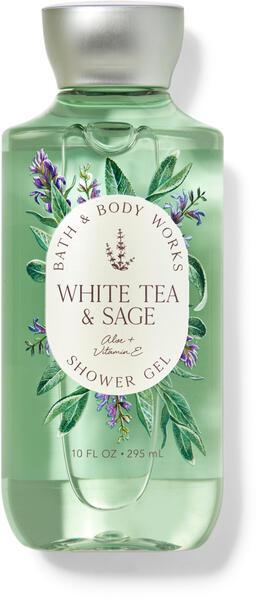 White Tea & Sage Shower Gel