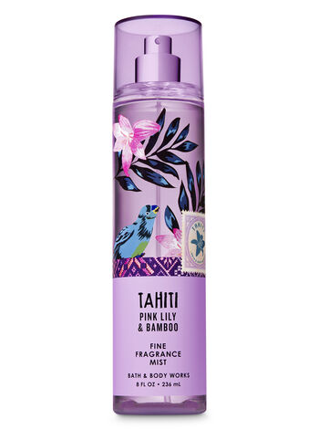 Signature Collection Pink Lily & Bamboo Fine Fragrance Mist - Bath And Body Works