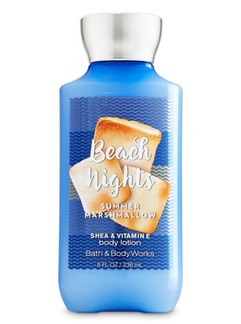 Signature Collection Beach Nights - Summer Marshmallow Body Lotion - Bath And Body Works