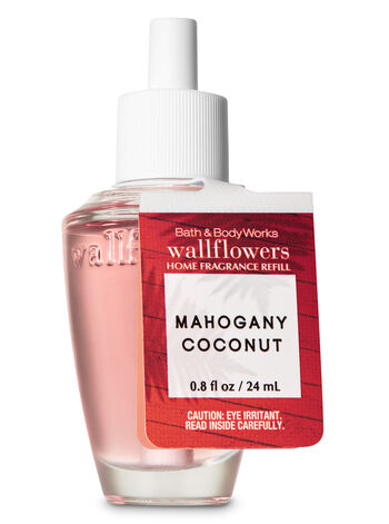 Mahogany Coconut Wallflowers Fragrance Refill - Bath And Body Works