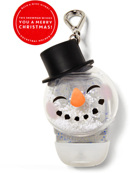 Noise-Making Snowman PocketBac Holder