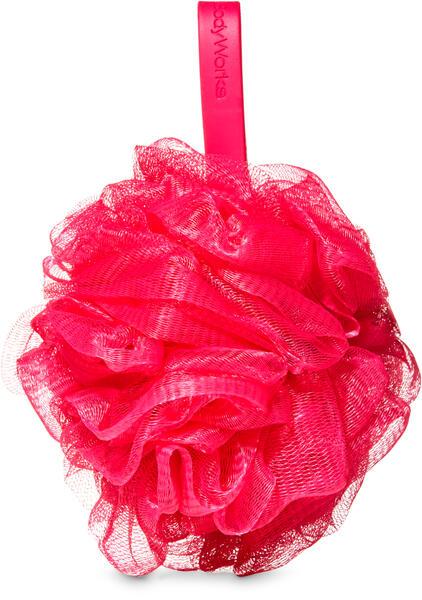 Dark Pink Loofah