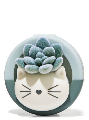 Kitty Succulent Visor Clip Car Fragrance Holder