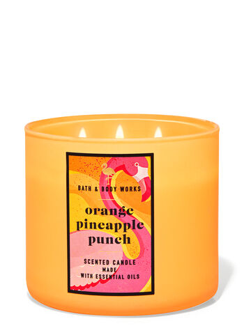 Orange Pineapple Punch 3-Wick Candle