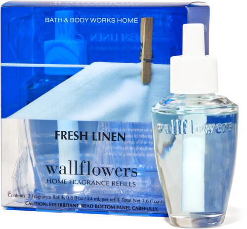 Fresh Linen Wallflowers Refills, 2-Pack