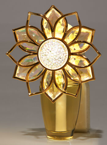 Golden Floral Nightlight Wallflowers Fragrance Plug