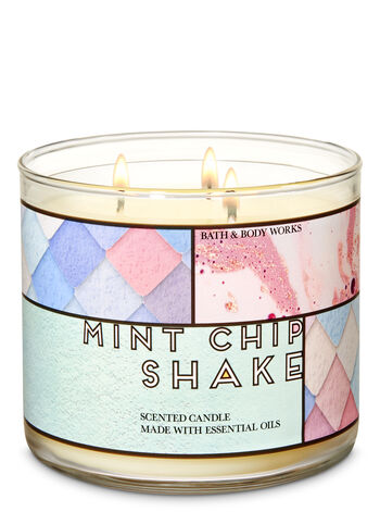 Mint Chip Shake 3-Wick Candle - Bath And Body Works
