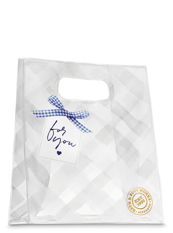 Gingham Gift Bag - Bath And Body Works