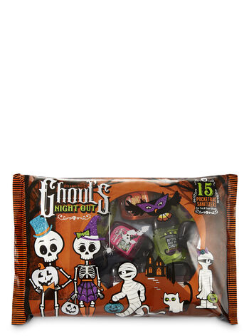 Ghouls Night Out Halloween Sampler PocketBac Hand Sanitizers, 5-Pack - Bath And Body Works