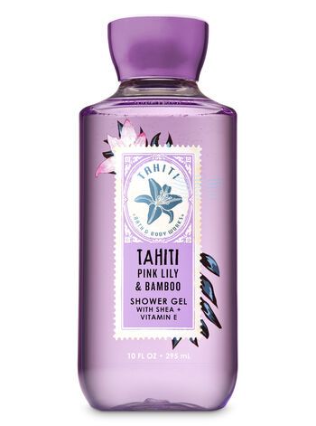 Signature Collection Pink Lily & Bamboo Shower Gel - Bath And Body Works