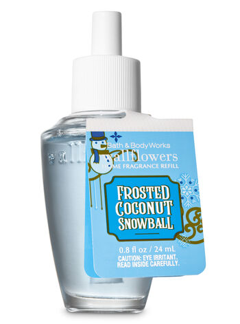 Frosted Coconut Snowball Wallflowers Fragrance Refill - Bath And Body Works