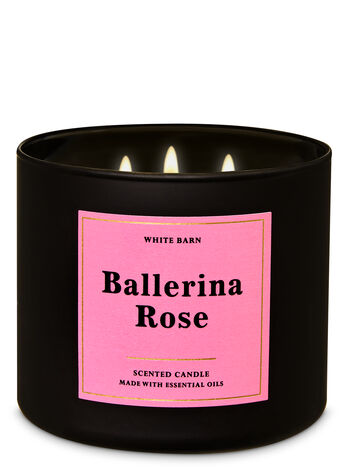 Ballerina Rose 3-Wick Candle - Bath And Body Works