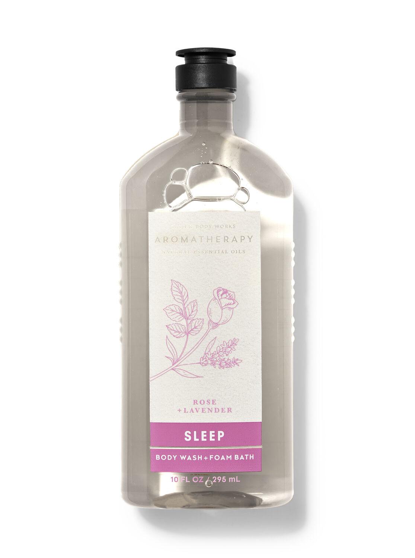 Rose Lavender Body Wash and Foam Bath
