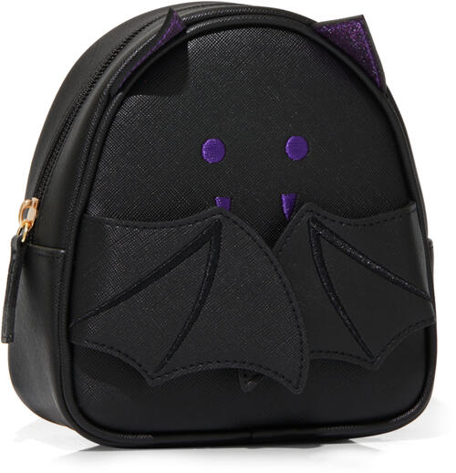 Black Bat Cosmetic Bag