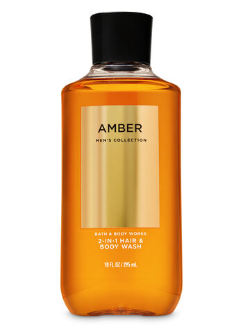 Amber 2-in-1 Hair + Body Wash - Bath And Body Works