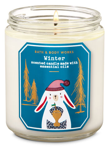 Winter Single Wick Candle - Bath And Body Works