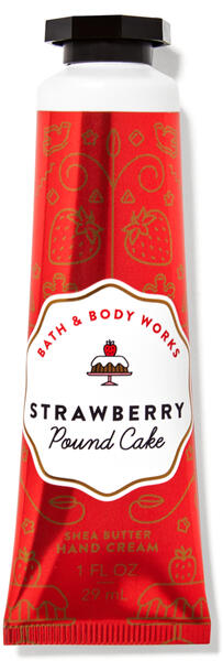 Strawberry Pound Cake Hand Cream