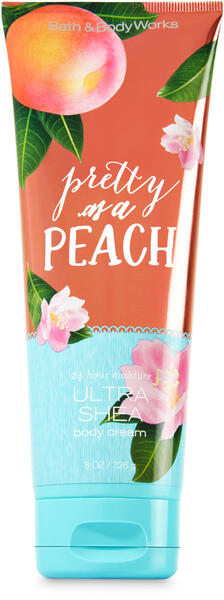 Pretty as a Peach Ultra Shea Body Cream