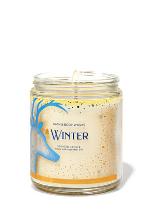 Winter Single Wick Candle