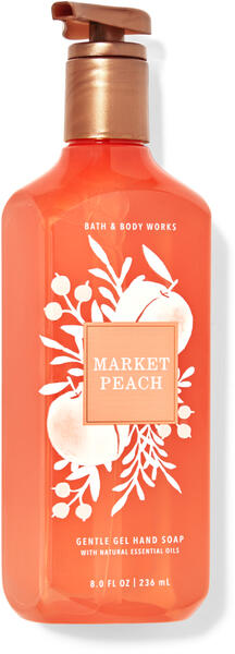 Market Peach Gentle Gel Hand Soap