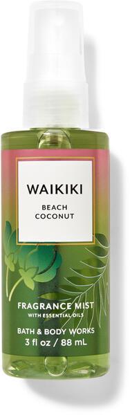 Waikiki Beach Coconut Travel Size Fine Fragrance Mist