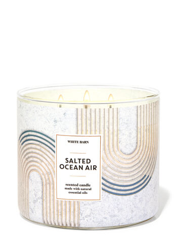 Salted Ocean Air 3-Wick Candle