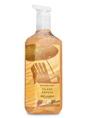 Island Papaya Deep Cleansing Hand Soap - Bath And Body Works