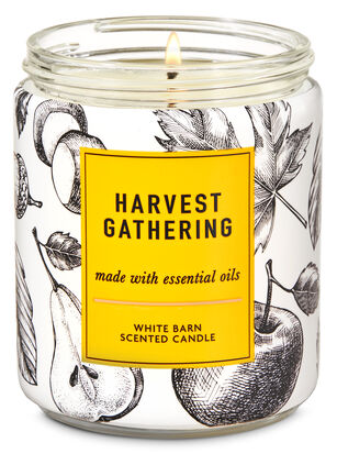 Harvest Gathering Single Wick Candle