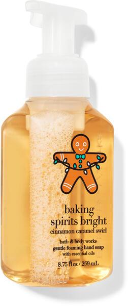 Cinnamon Caramel Swirl Gentle Foaming Hand Soap