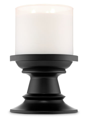 Black Pedestal 3-Wick Candle Holder - Bath And Body Works