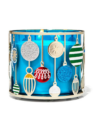 Ornament 3-Wick Candle Holder