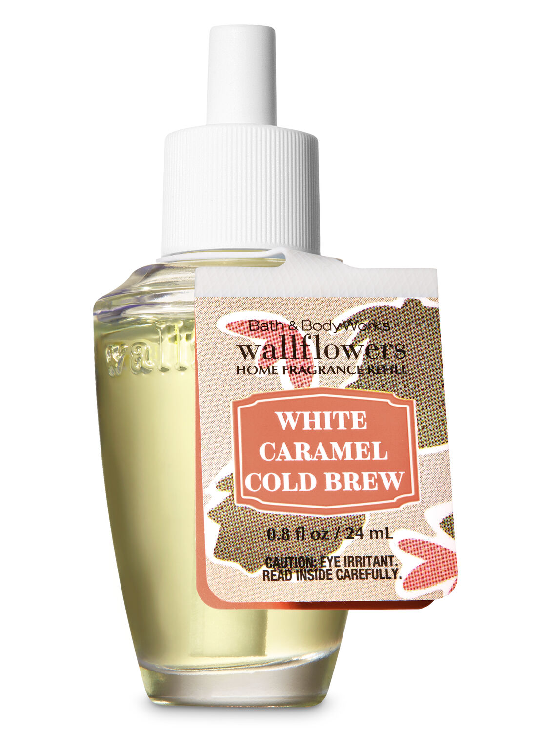 Bath /& Body Works White Caramel Cold Brew 3-Wick Candle