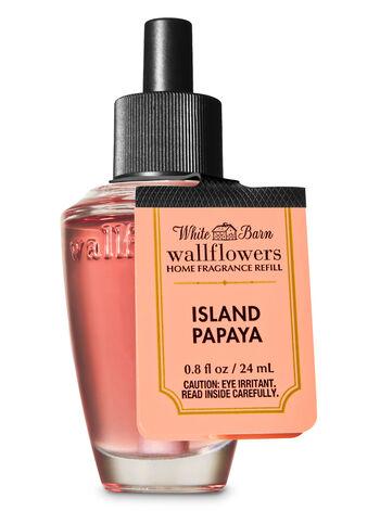 Island Papaya Wallflowers Fragrance Refill - Bath And Body Works