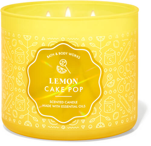 Lemon Cake Pop 3-Wick Candle