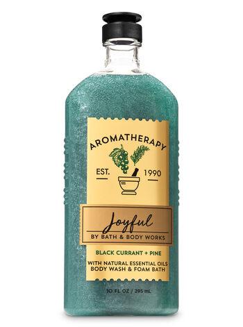 Aromatherapy Black Currant Pine Body Wash & Foam Bath - Bath And Body Works