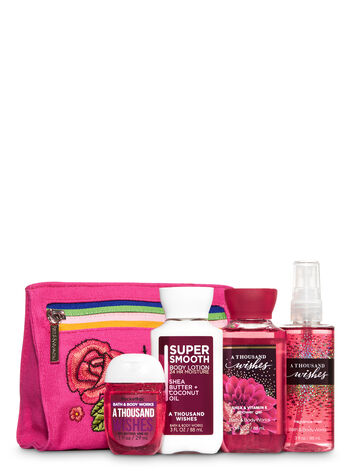 A Thousand Wishes Looking Good! Cosmetic Bag Gift Set