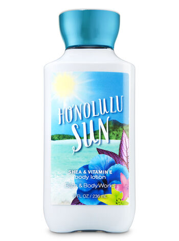 Signature Collection Honolulu Sun Super Smooth Body Lotion - Bath And Body Works