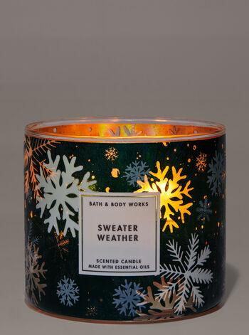 Sweater Weather 3-Wick Candle
