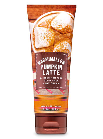 Marshmallow Pumpkin Latte Ultra Shea Body Cream - Bath And Body Works