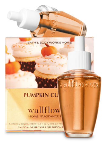 Pumpkin Cupcake Wallflowers Refills, 2-Pack - Bath And Body Works