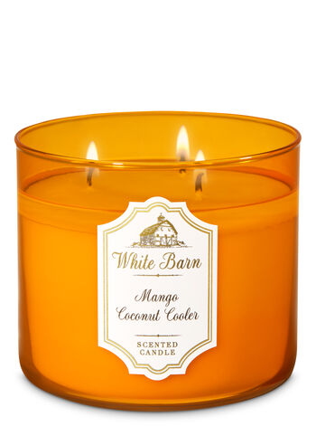Mango Coconut Cooler 3-Wick Candle - Bath And Body Works