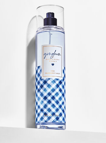 Signature Collection Gingham Fine Fragrance Mist - Bath And Body Works