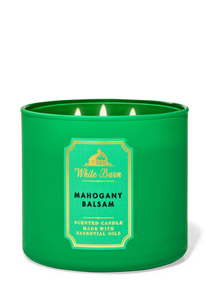 Mahogany Balsam 3-Wick Candle