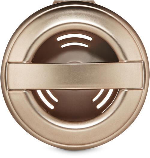 Metallic Pewter Vent Clip Car Fragrance Holder