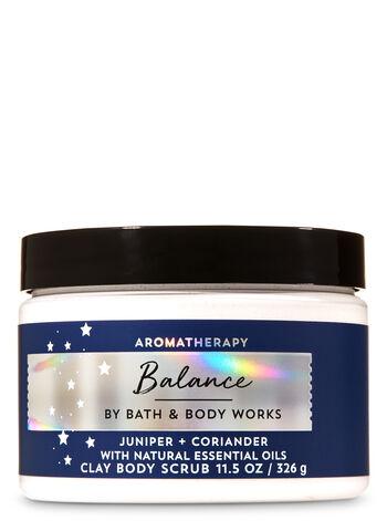 Aromatherapy Juniper Coriander Clay Body Scrub - Bath And Body Works