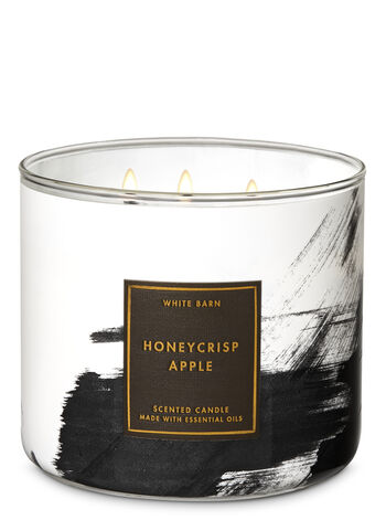White Barn Honeycrisp Apple 3-Wick Candle - Bath And Body Works