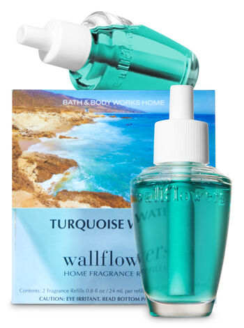 Turquoise Waters Wallflowers Refills, 2-Pack - Bath And Body Works