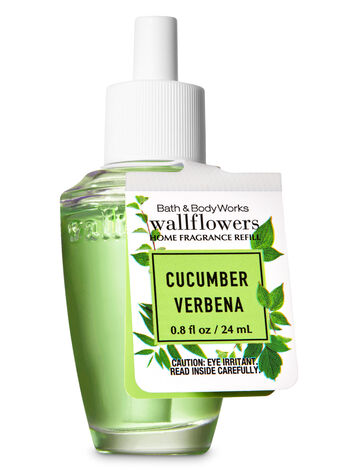 Cucumber Verbena Wallflowers Fragrance Refill - Bath And Body Works