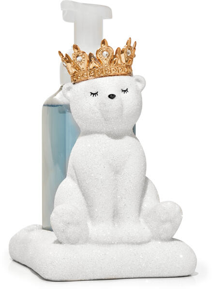 Royal Polar Bear Gentle Foaming Soap Holder